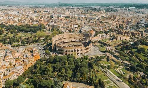 Alojarse en la zona del Coliseo de Roma