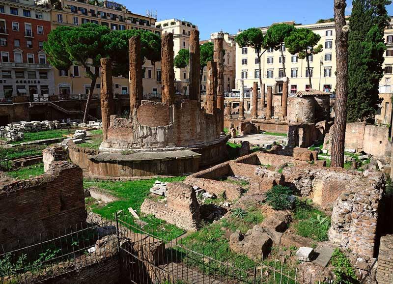 Área Sacra en Roma
