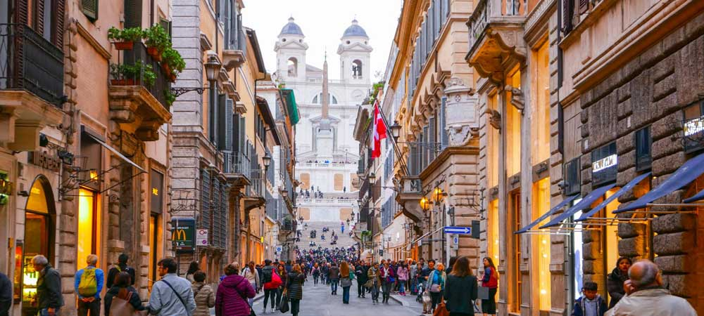 Dónde ir de compras en Roma