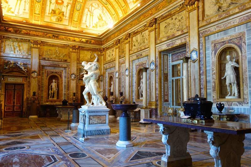 Entradas Galería Borghese