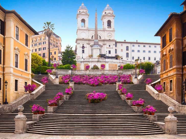 Las escaleras más famosas de Roma