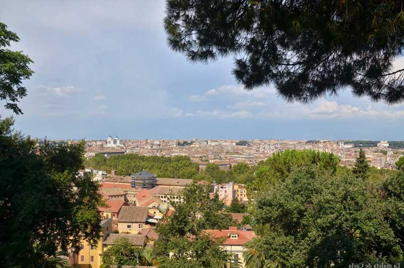 Vistas desde Gianicolo