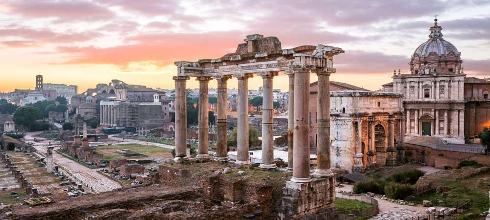 Películas y series rodadas en Roma