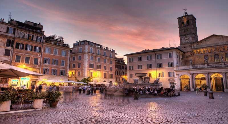 Piazza san Calisto