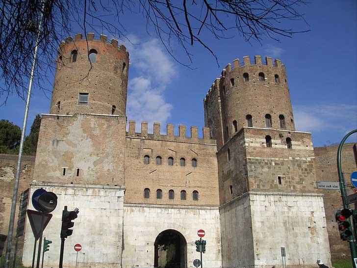 Porta Appia - Porta San Sebastiano