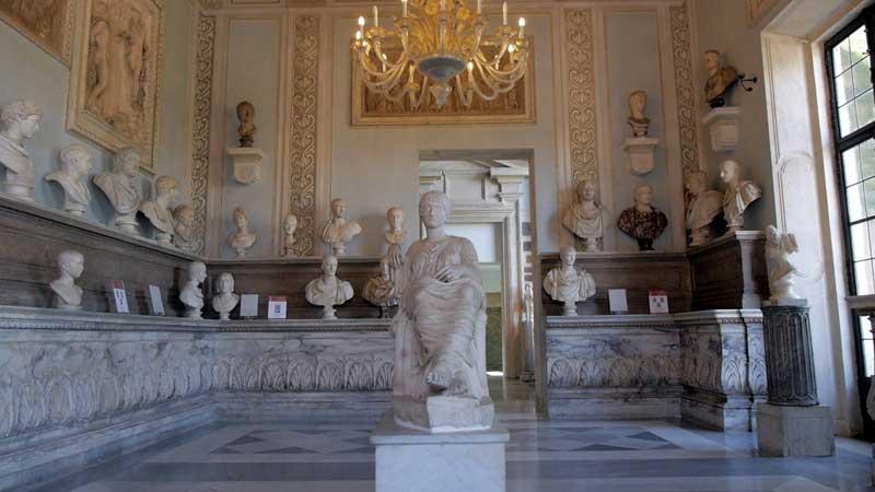 La sala de los emperadores