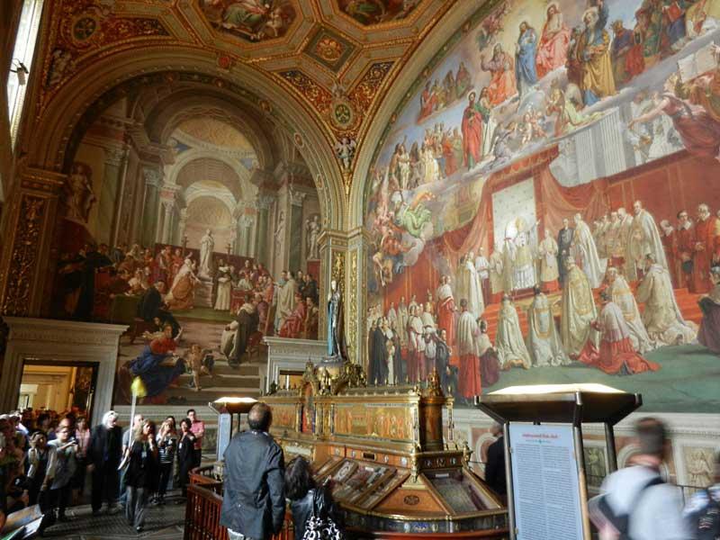 La sala de la Inmaculada