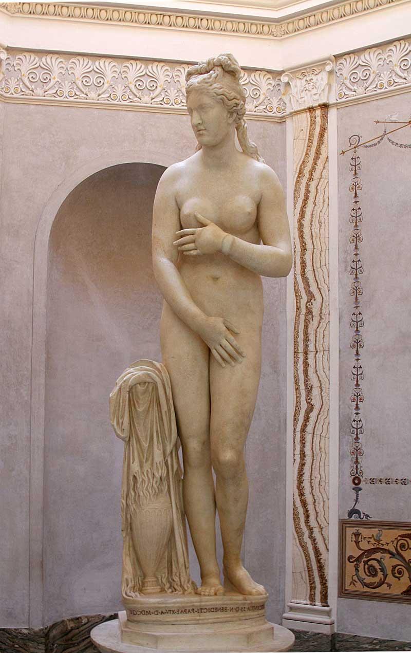 estatua de la diosa Venus Afrodita