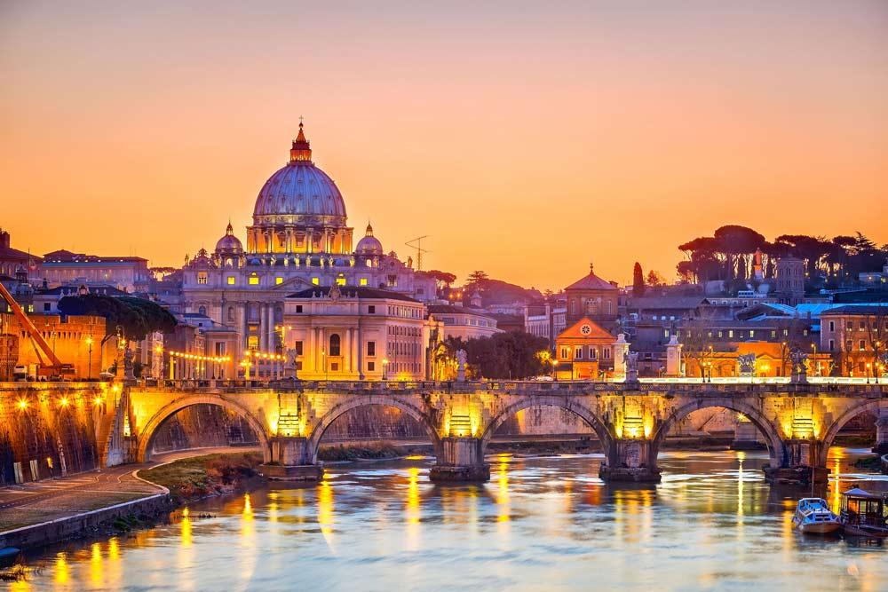 Viajar a Roma, Italia