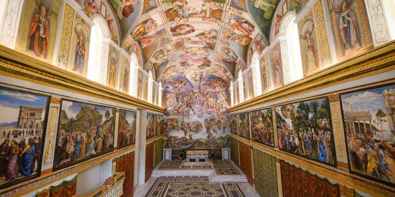 La Capilla Sixtina del Vaticano